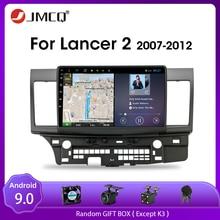 JMCQ Android 9.0 2G+32G Car Radio For Mitsubishi Lancer 2007-2012 Multimedia Video Player Navigation GPS 2Din DSP Car Dvd Player