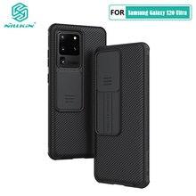 لسامسونج S20 الترا حافظة Nillkin الشريحة كاميرا غطاء للحماية لسامسونج غالاكسي S20 زائد S20+ FE 2020 نوت 20 الترا 5G