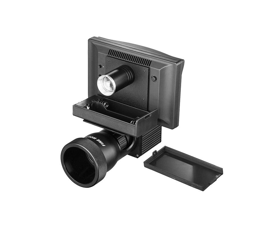 1080 p escopo câmeras de vídeo iluminador