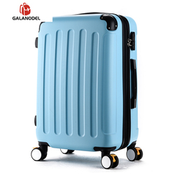 20''24 Inch Girl Trolley Suitcase ABS Students Big Bag Travel Luggage Rolling Suitcase Extension Cabin Carry on Luggage 28''