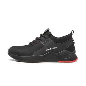 Image 3 - 남자를위한 작업 부츠 작업 안전 신발 공장 철강 발가락 신발 미끄럼 방지 방지 스매싱 펑크 증거 통기성