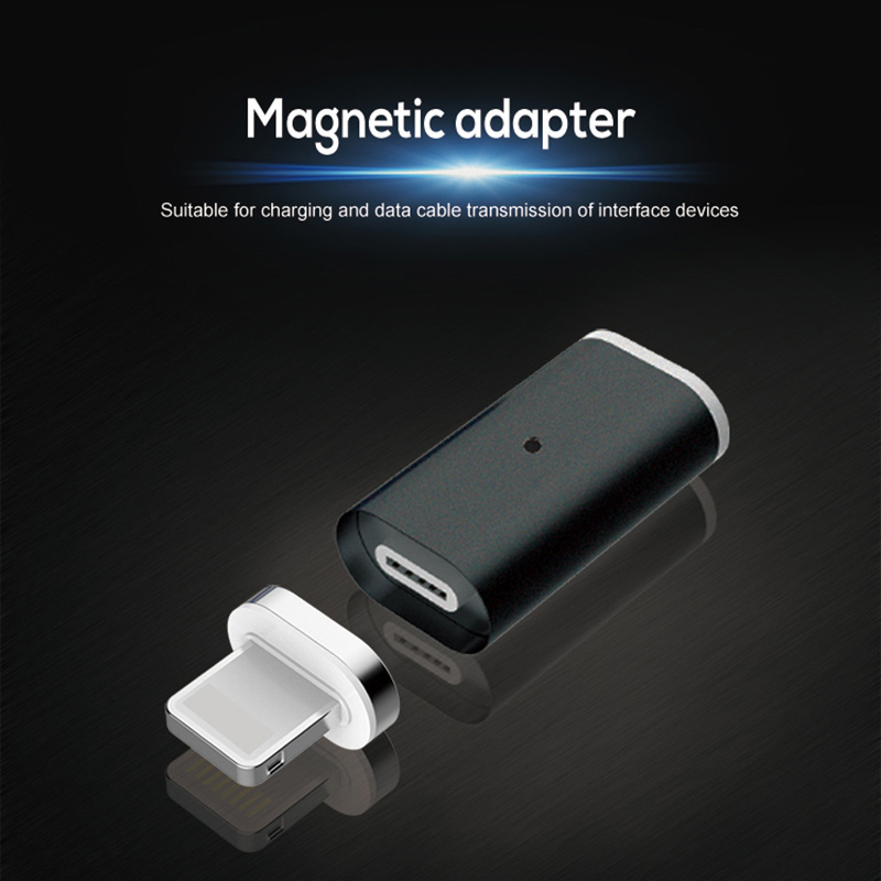 Mirco USB Connector Micro Usb Charger Adapter  Type C Adapter Magnetic Charger USB Connector For Android Micro USB Iphone Type C