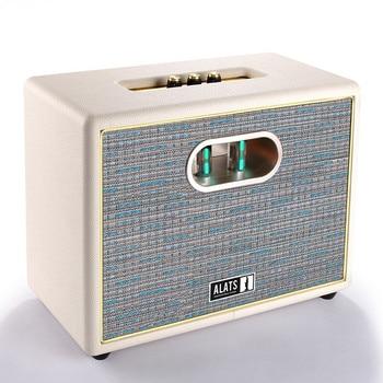 Professional Subwoofer WiFi Speaker Bluetooth 100W HiFi Retro Bookshelf Louderspeaker Treble/Bass/Volume Adjustable Speakers