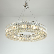 Luxury Round Crystal Chandelier Light Large Luminaires Hanging Lighting for Restaurant Hotel Project Crystal Lamp Lamparas