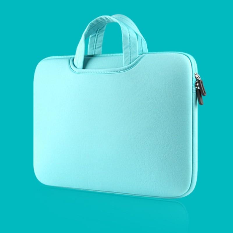 Men Women Simple Bag Business Nylon Computer Handbags Portable Zipper Laptop Bag Men Laptop Bags