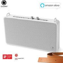 GGMM Altavoz Bluetooth de Interior para exteriores altavoz de estéreo HiFi inalámbrico portátil de 20W, potente altavoz con 4 conductores, caja de sonido con micrófono