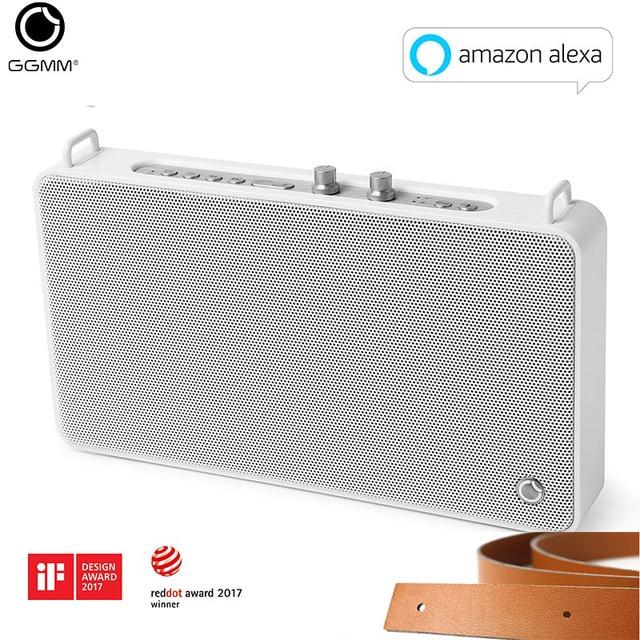 GGMM Outdoor/Indoor Bluetooth Speaker Portable Wireless HiFi Stereo Speaker 20W Powerful Loudspeaker 4 Driver Sound Box With Mic