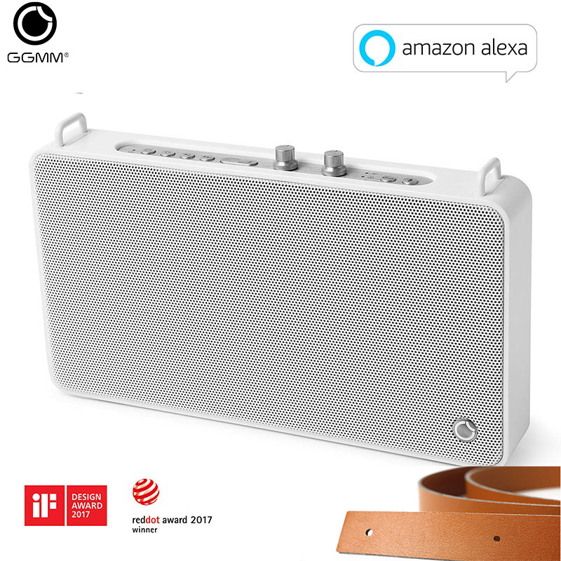 GGMM Outdoor/Indoor Bluetooth Speaker Portable Wireless <font><b>HiFi</b></font> Stereo Speaker 20W Powerful Loudspeaker 4 Driver Sound Box With Mic image