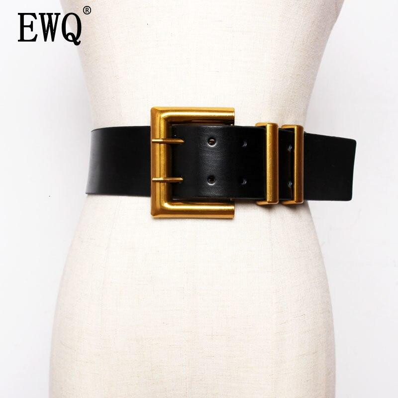 [EWQ] 2020 Belt Decoration Match Skirt Overcoat Ins Wind Belt Concise All-match Outside The Ride Waist Belt 19C-a100-01-0