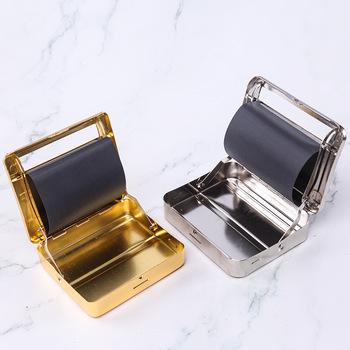 Palenie papierosów tytoń urządzenie do zwijania papierosów Roller Maker Box ręczny Metal 70mm78mm tanie i dobre opinie CN (pochodzenie)