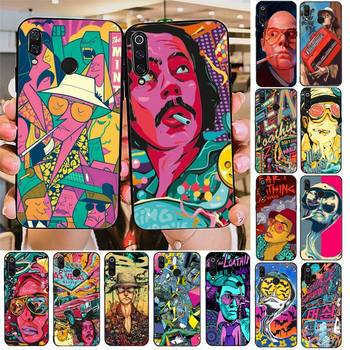 Fear and Loathing in Las Vegas Phone Case For Redmi note 8Pro 8T 6Pro 6A 9 Redmi 8 7 7A note 5 5A note 7 case image