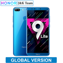 """Honor 9 Lite Versione Globale di 5.65 """"Schermo di Visualizzazione Completa 2160 * 1080Pix Smartphone Octa Core 4 Telecamere 13MP mobile telefono"""
