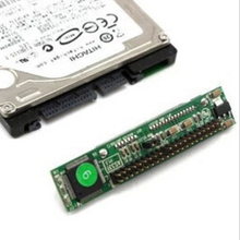 2.5 inç HDD SSD seri ATA 7 + 15P dişi 44 Pin erkek PATA IDE Port adaptörü kartı 2.5