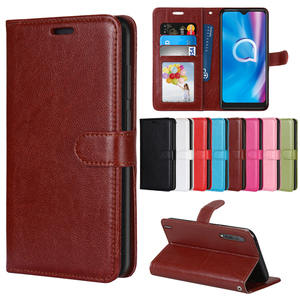 Image 1 - PU Leather Case for LG G4 Flip Cover Stand Holder Cell Phone Wallet Case For LG G4 VS986 LS991 F500 H810 H811 Silicon Back Case