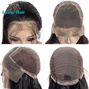 Image 5 - Luasy ברזילאי שיער Weave חבילות ישר 100% רמי הארכת שיער טבעי צבע 30 32 34 36 38 40 אינץ שיער טבעי חבילות