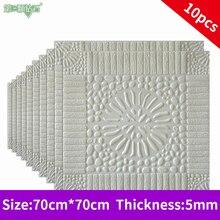 3D Brick tile Wall sticker Living stone Wall Stickers Waterproof Bedroom DIY self-Adhesive foam Wallpaper Art Home Wall Decals