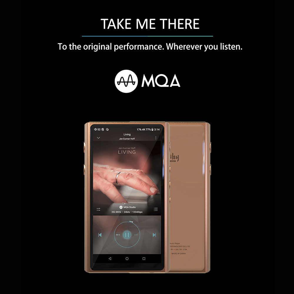 HiBy R5 Android 8.1 HIFI bezstratna muzyka odtwarzacz MP3 Amazon muzyka Ultra HD/WiFi/Air Play/LDAC/DSD/aptX/Dual CS43198/hi-res/MQA