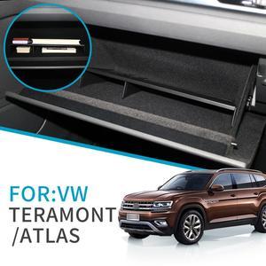ZUNDUO автомобильный бардачок интервальный ящик для хранения VW Teramont 2017 2018 2019 2020 Atlas аксессуары консоль Tidying Копилка коробка для хранения