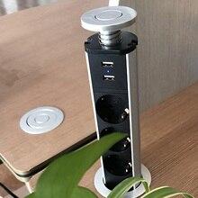 Besegad pop up escondido tomada de energia elétrica para escritórios hotéis reuniões sala de reuniões mesa de mesa bancada plug ue