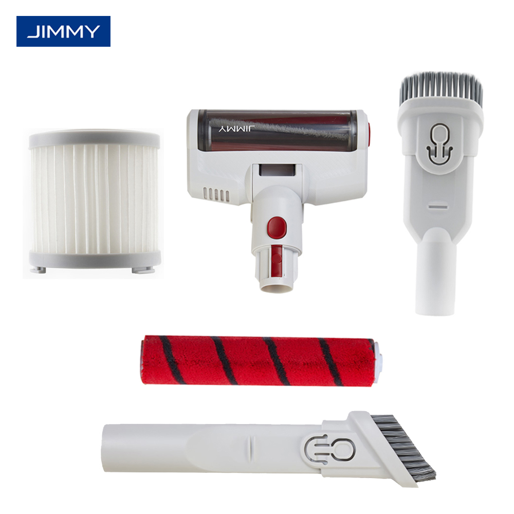 Original JIMMY JV51 Vacuum Cleaner Accessory JV51 Spare Parts Cleaning Brush Battery Pack HEPA Filter