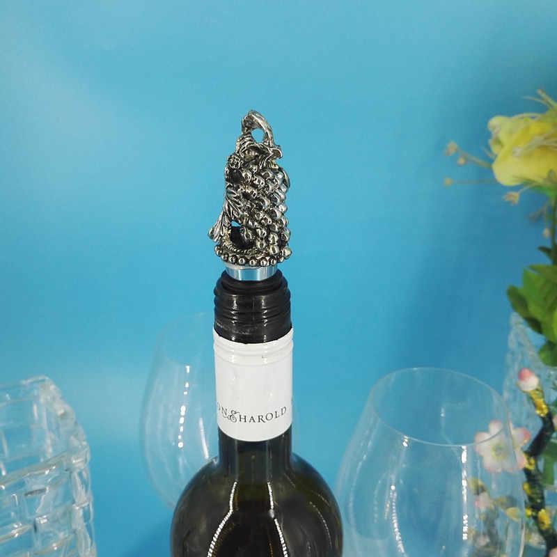 5 styl Swan pterozaur winogron antylopa głowy stopu cynku winogron czerwony korek do wina zapisać wtyczkę butelka do szampana Cap Toucan Wine Cover