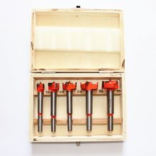 цена на 5pcs 15-35mm Adjustable Carbide Drill Bit Hinge Hole Opener Tipped Drilling Tool