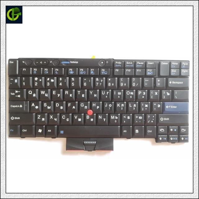 Tastiera russa per IBM LENOVO Thinkpad T410 T420 X220 T510 T510i T520 T520i W510 W520 T400S T410I T420I X220i T410S t420S RU