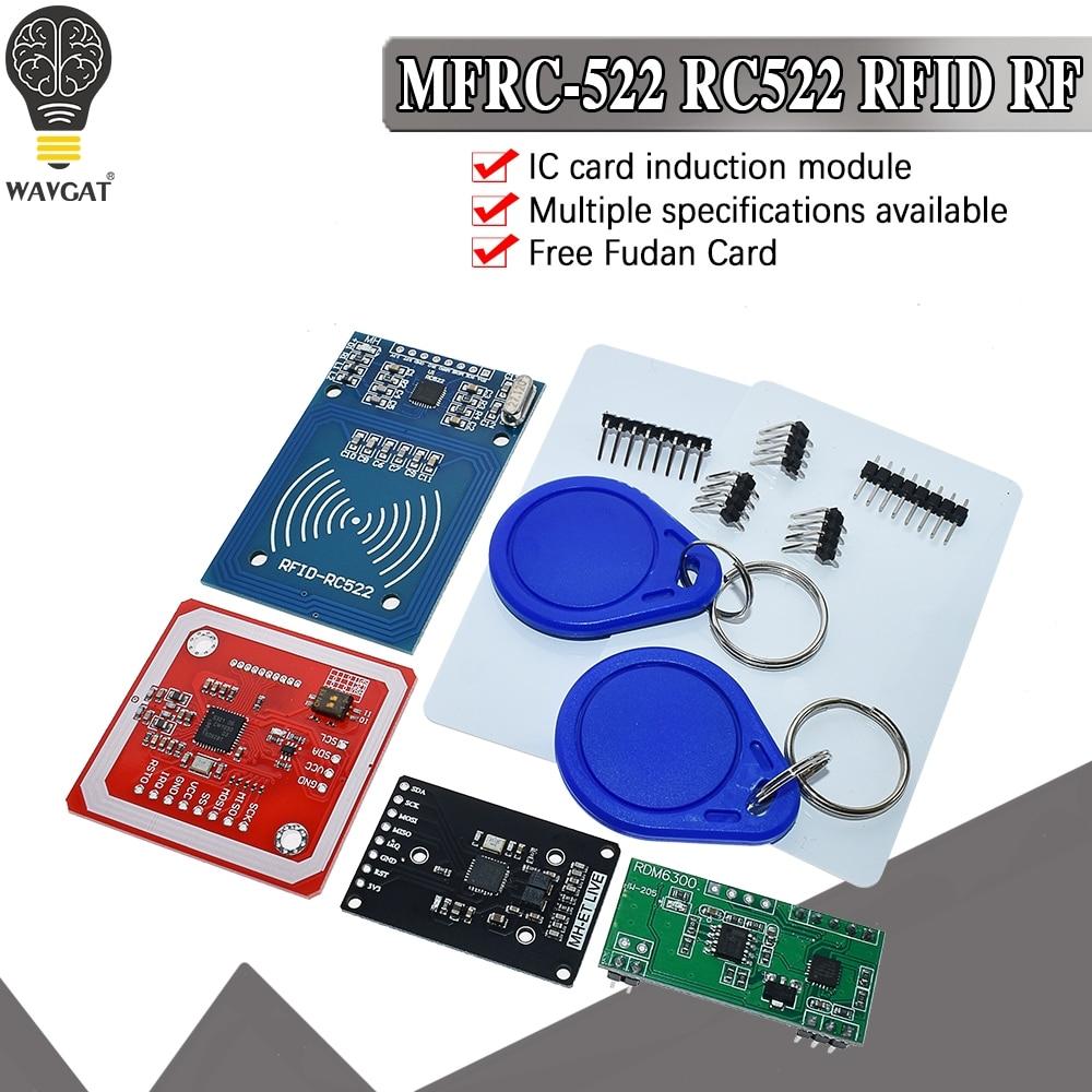 Rfid-модуль RC522, наборы RDM6300, S50, 13,56 МГц, 125 кГц, 6 см, с тегами, SPI, запись и чтение для arduino uno 2560