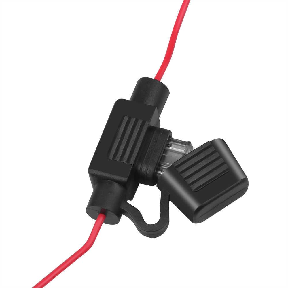 Universal 12V Auto Mobil Radio FM Antena Sinyal Amp Amplifier Booster untuk Marine Mobil Kendaraan Perahu 330 Mm FM amplifier