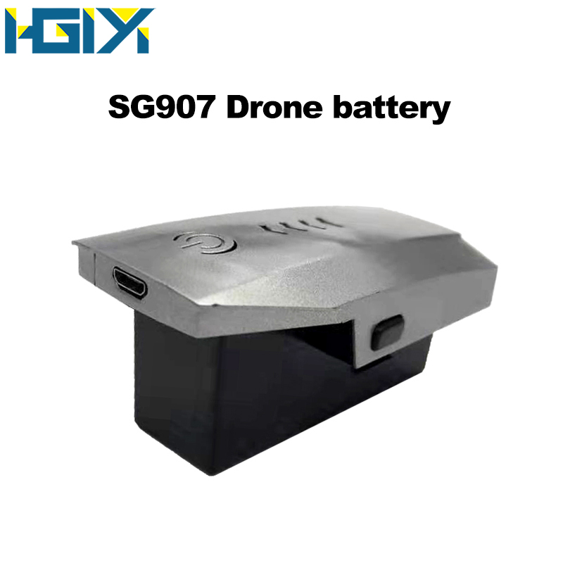 HGIYI SG907 GPS Drone Lipo Battery 7.4V 1600 MAh Lithium Battery Spare Parts Accessories Replacement SG907 RC Drones Helicopter