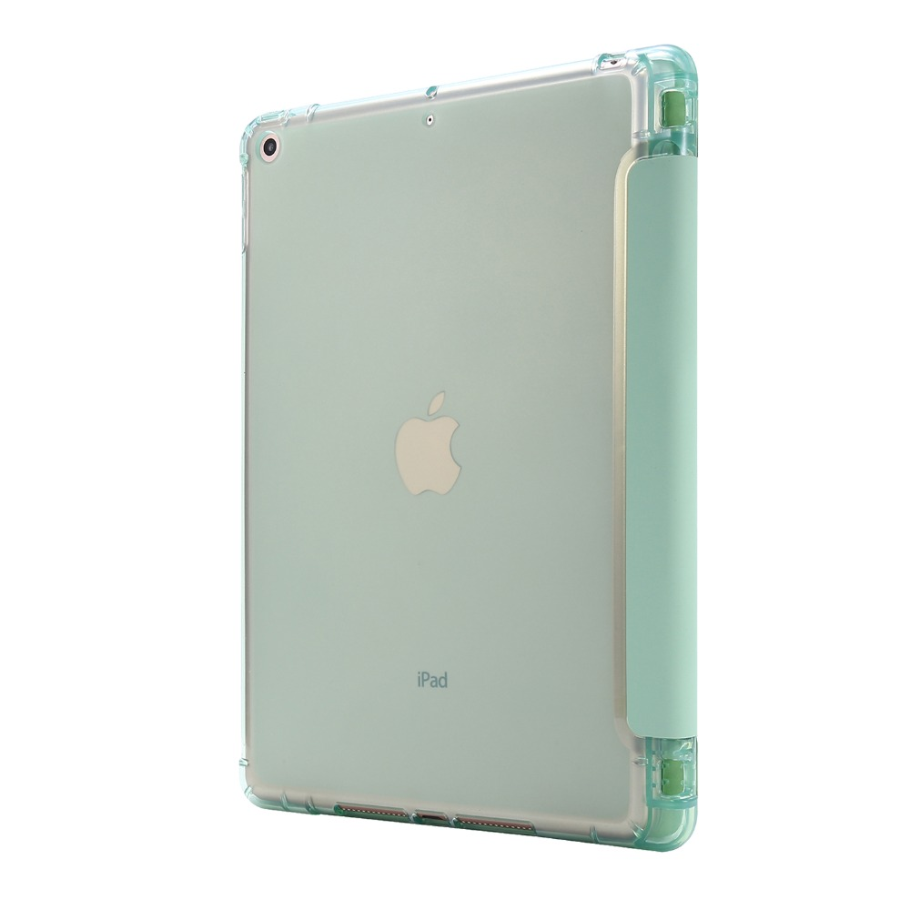 7th-Generation-Case iPad with Pencil-Holder Folding-Cover Light-Color for Funda 10-2-Case
