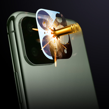 Camera Lens Full Cover Protective Metal Ring + Tempered Glass For iPhone 11 Pro XS Max XR X Back Protector Case