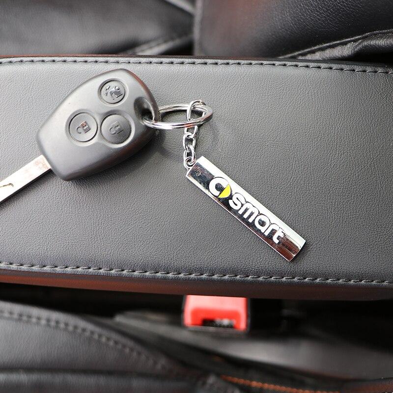 Автомобильный брелок для ключей для Smart Fortwo Forfour 453 451 450 452 454 Crossblade City Cabrio City-купе родстер брелки для ключей