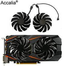 GPU Cooler Fan Graphics-Card GV-RX570AORUS 88mm GIGABYTE T129215SU RX580/570 REDEON Ce