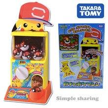 Takara Tomy Pokemon Zon & Maan Gacha Poket Machine Pocket Monster Pikachu Model Kit Hot Pop Zachte Digimon Kinderen Speelgoed voor Kinderen