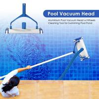 Swimming Pool Vacuum Head Pool Brush Cleaner Pond Pool Spa Surface Cleaning Tool The Handle Can Rotate 180 Degrees Flexibly