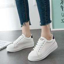 2019 Chunky Sneakers Platform Women White Thick Sole Ladies Female Shoes Fashion Casual C0062