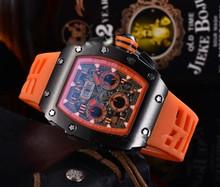 2020 Richard męskie zegarki Top marka luksusowe zegarki męskie Mille DZ mężczyzna zegar kwarcowy automatyczne zegarki na rękę tanie tanio ZHIMO Luxury ru QUARTZ STAINLESS STEEL Nie wodoodporne CN (pochodzenie) Klamra 20mm Hardlex Male watch 20inch Skórzane