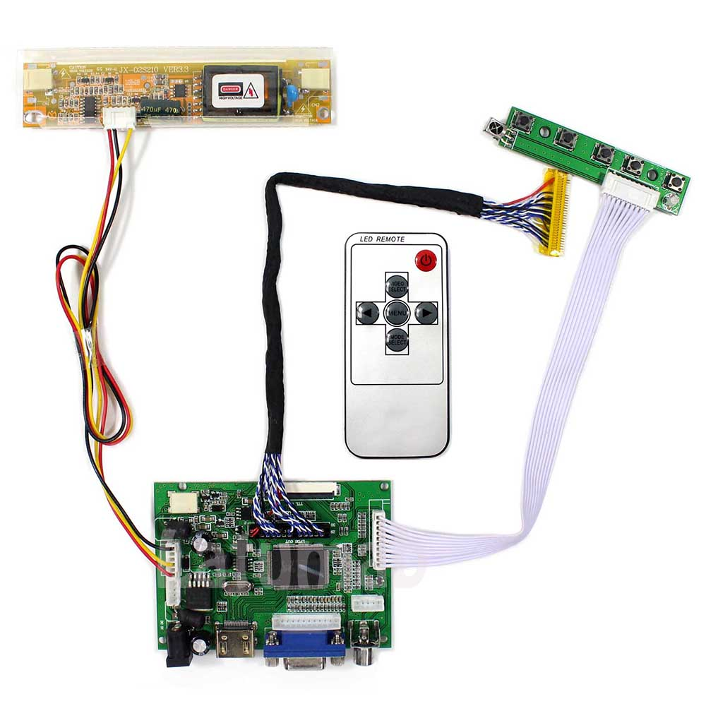 Latumab-placa controladora LCD HDMI VGA 2AV para LP171WP5, resolución de 1440x900 para pantalla LCD de 17 pulgadas