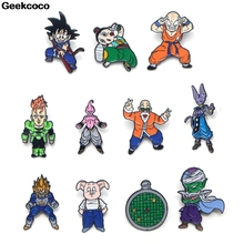 Geekcoco Fashion Enamel Pin Funny Collection Brooches Cartoon Art Lapel Pins Backpack Badge Collar Jewelry RK0016 geekcoco fashion enamel pin cartoon anime collection brooches art lapel pins backpack badge collar jewelry rk0028