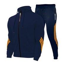Novo 2 peças define agasalho amg impressão dos homens com capuz moletom + calças pulôver com capuz sportwear terno casual esportes roupas dos homens