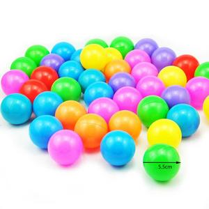 Image 2 - 50/100/200pc Baby Color Ocean Balls for Swimming Pool Childrens Swimming Toys PlastIc Ball Pit For Play House Outdoors Tents