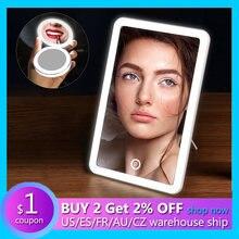 Светодиодное зеркало для макияжа с сенсорным экраном Светильники
