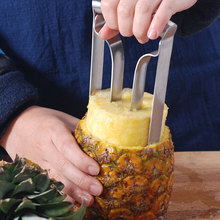 Durable Knife Kitchen Tool Stainless Steel Fruit Pineapple Corer Slicer Peeler Cutter Parer Slicers #63