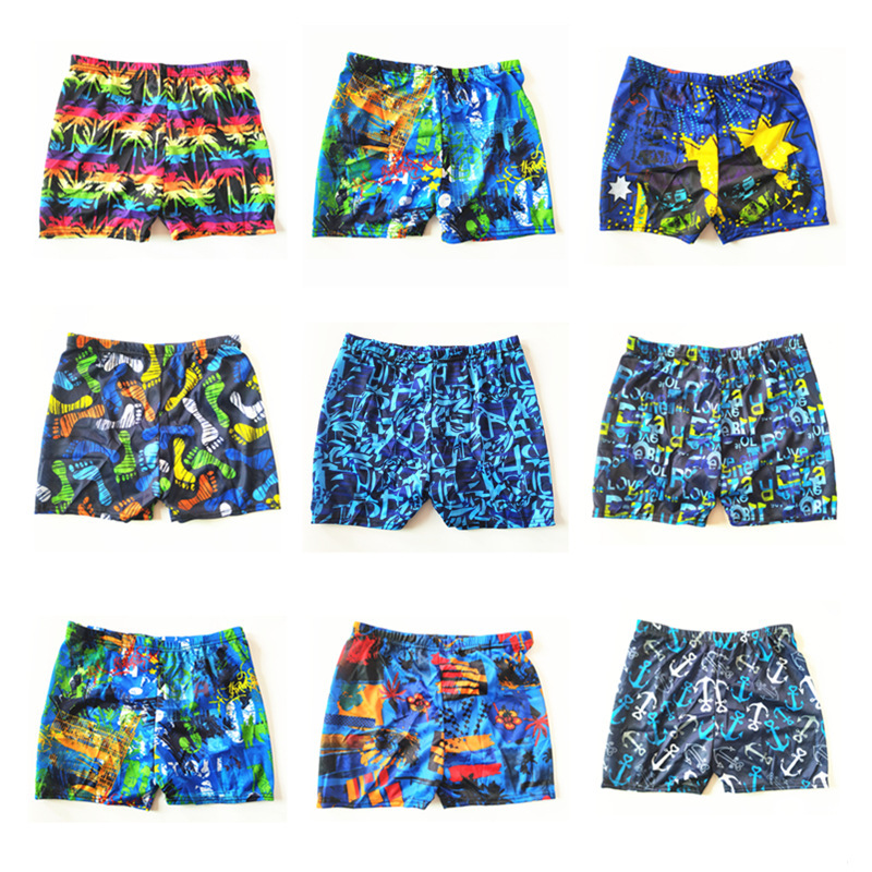 Men's Hot Selling Swimming Trunks Printed Swim Shorts Hot Spring Swimming Trunks Adult Swimming Trunks