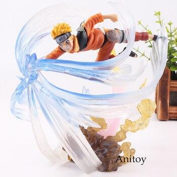 Figura de Naruto Uzumaki con el rasengan de Naruto (25cm) Figuras de Naruto Merchandising de Naruto
