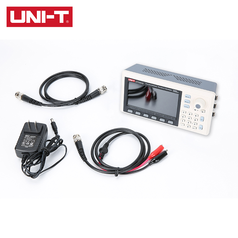 UNI-T UTG932E 30MHz UTG962E функция 60MHz/произвольный генератор сигналов 1μHz 4,3 Inch DDS поддержка выходной частоты