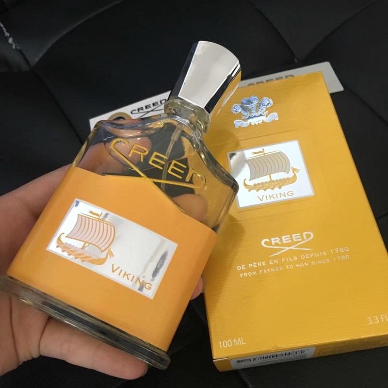 100ml Golden Version Creed Viking Perfume For Men Long Lasting Time Fragrance Good Smell Cologne