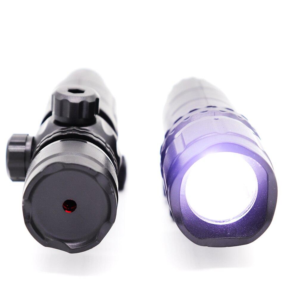 Plastic Tactical Infrared Laser Lamp Light +LED High Brightness White Light Flashlight For Nerf Or Jinming Gel Ball Blaster