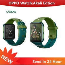 Oryginalny zegarek Oppo Akali Editon dla ligi Lengends S10 Smartband eSIM GPS 1.91 cala AMOLED elastyczny zegarek VOOC 430 bateria